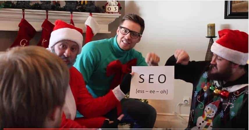 An SEO Writer's Jingle Bells