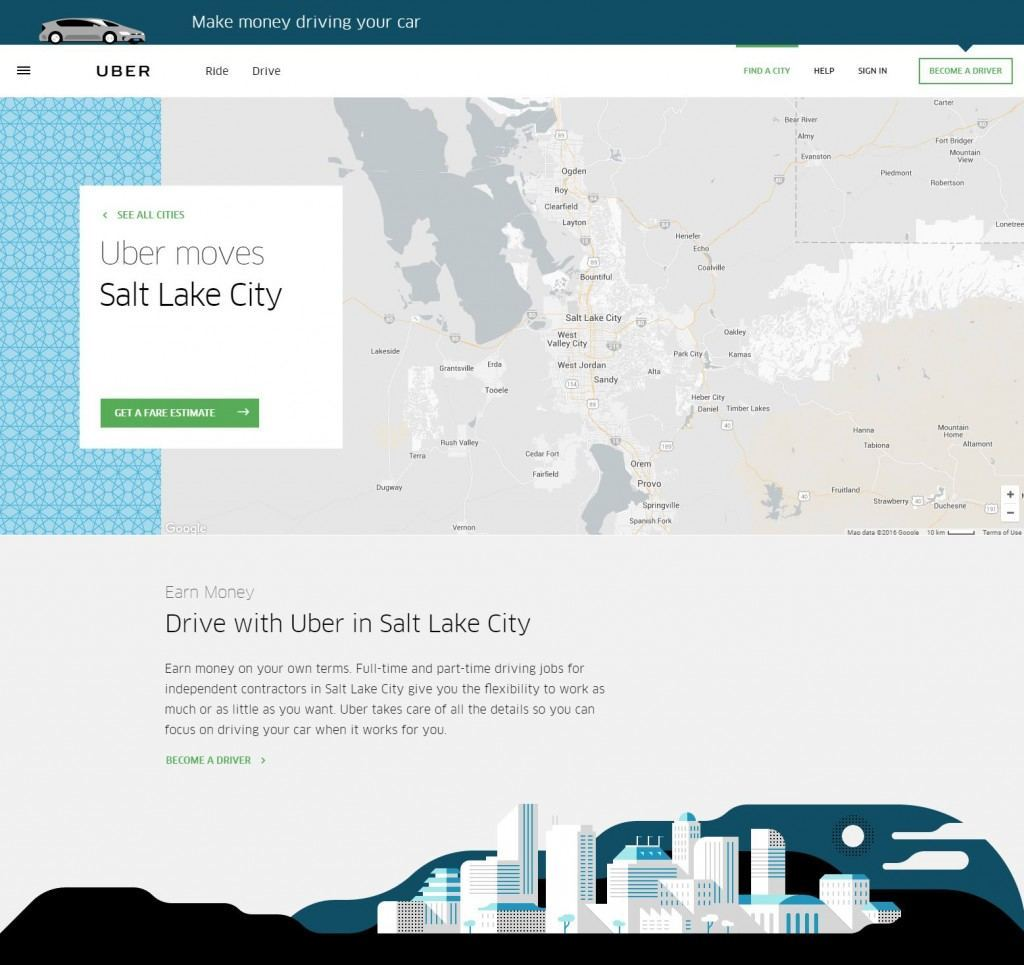 building geo targeted local landing pages bka content uber local page