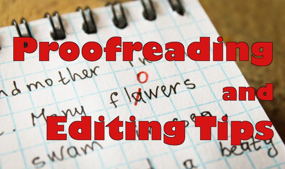 proofreading and editing tips