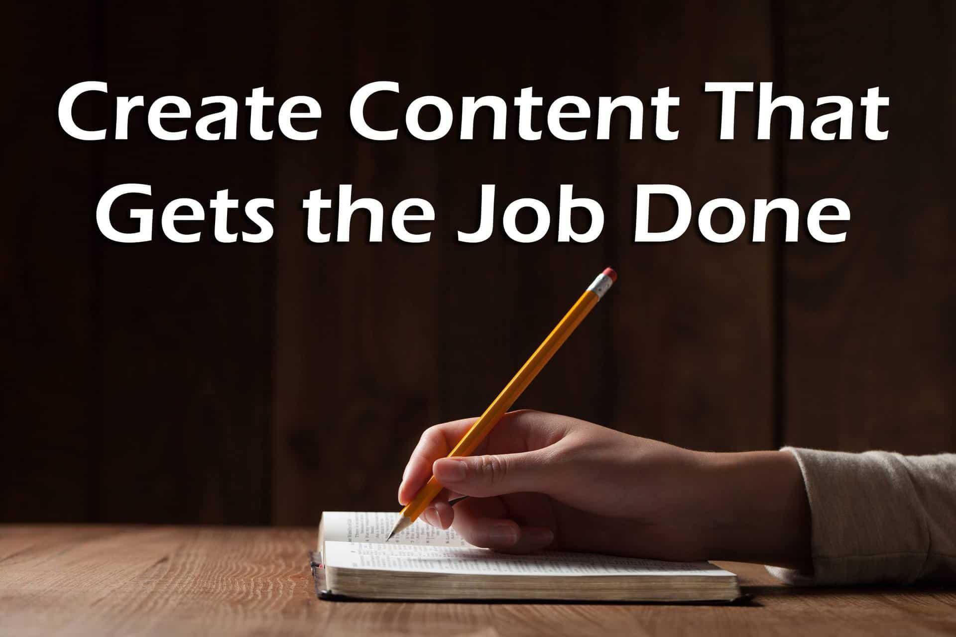 Content Creation Company