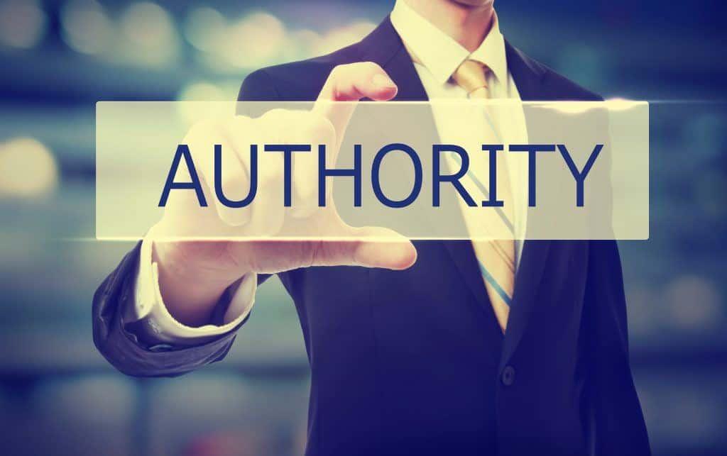 blog writing authority