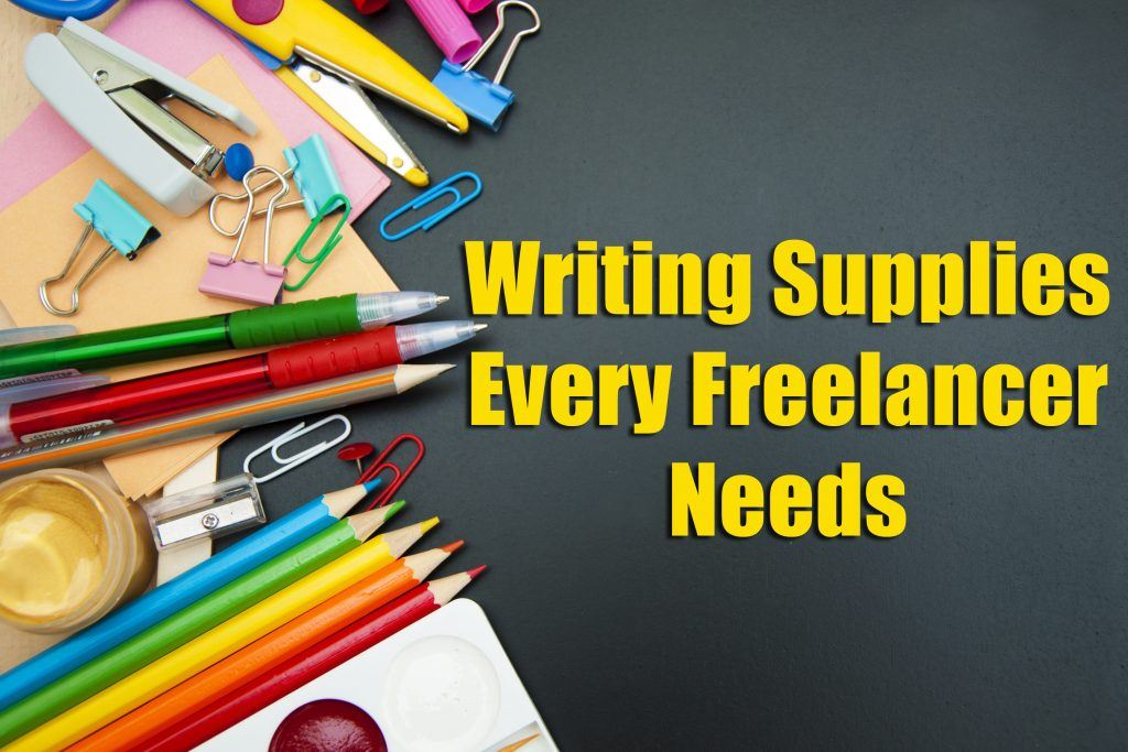 Freelancer Writing Supplies