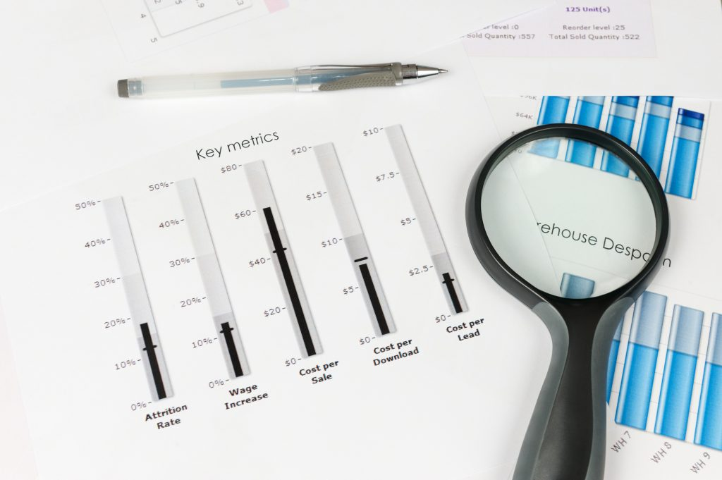 SEO keyword research metrics
