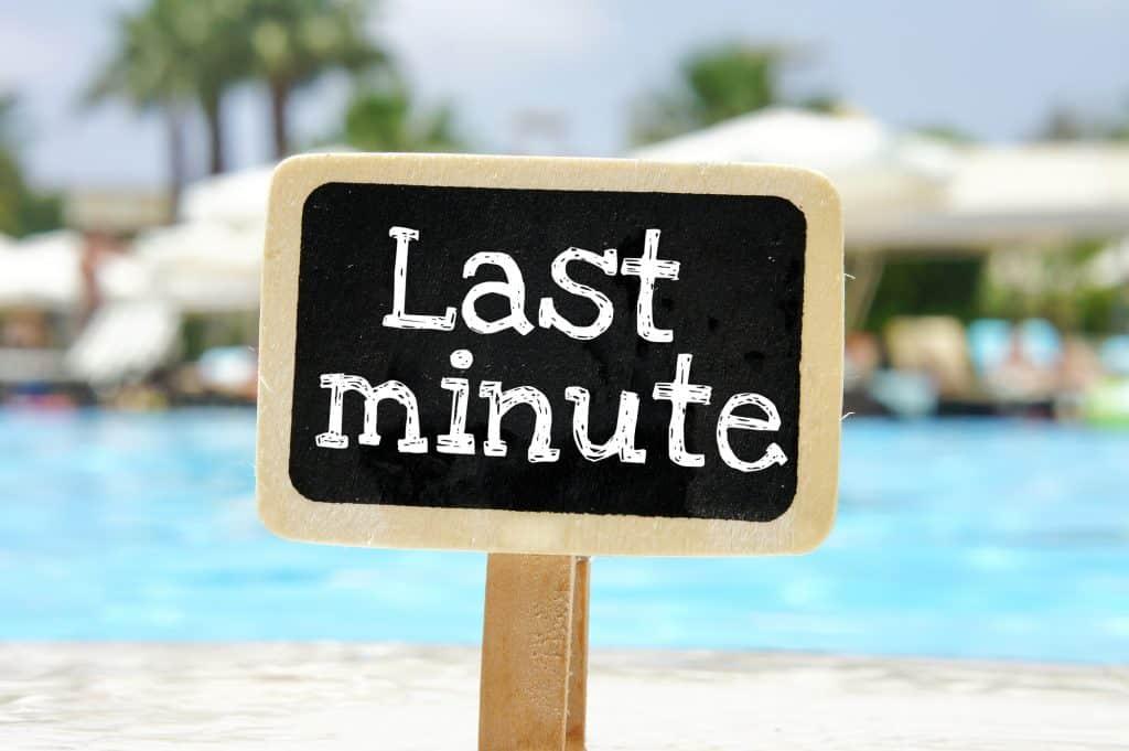 last minute excuses