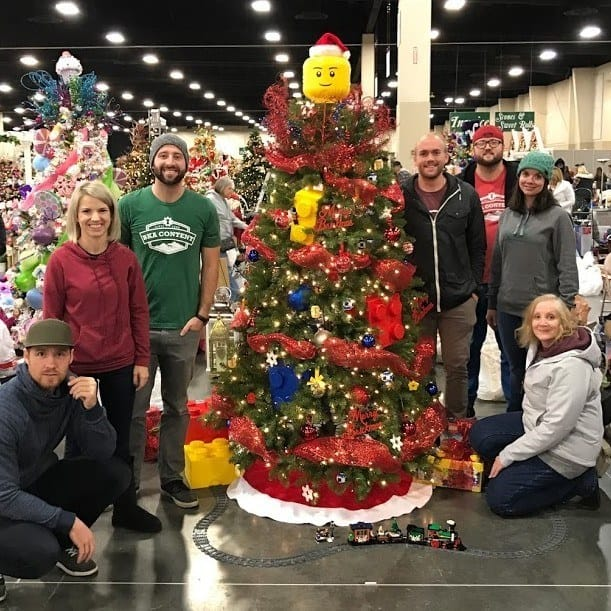 BKA Content Auctions Lego Tree for Festival of Trees Charity