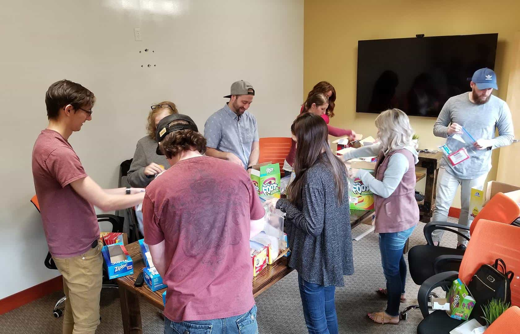 Snack Attack: Helping Hungry Kids