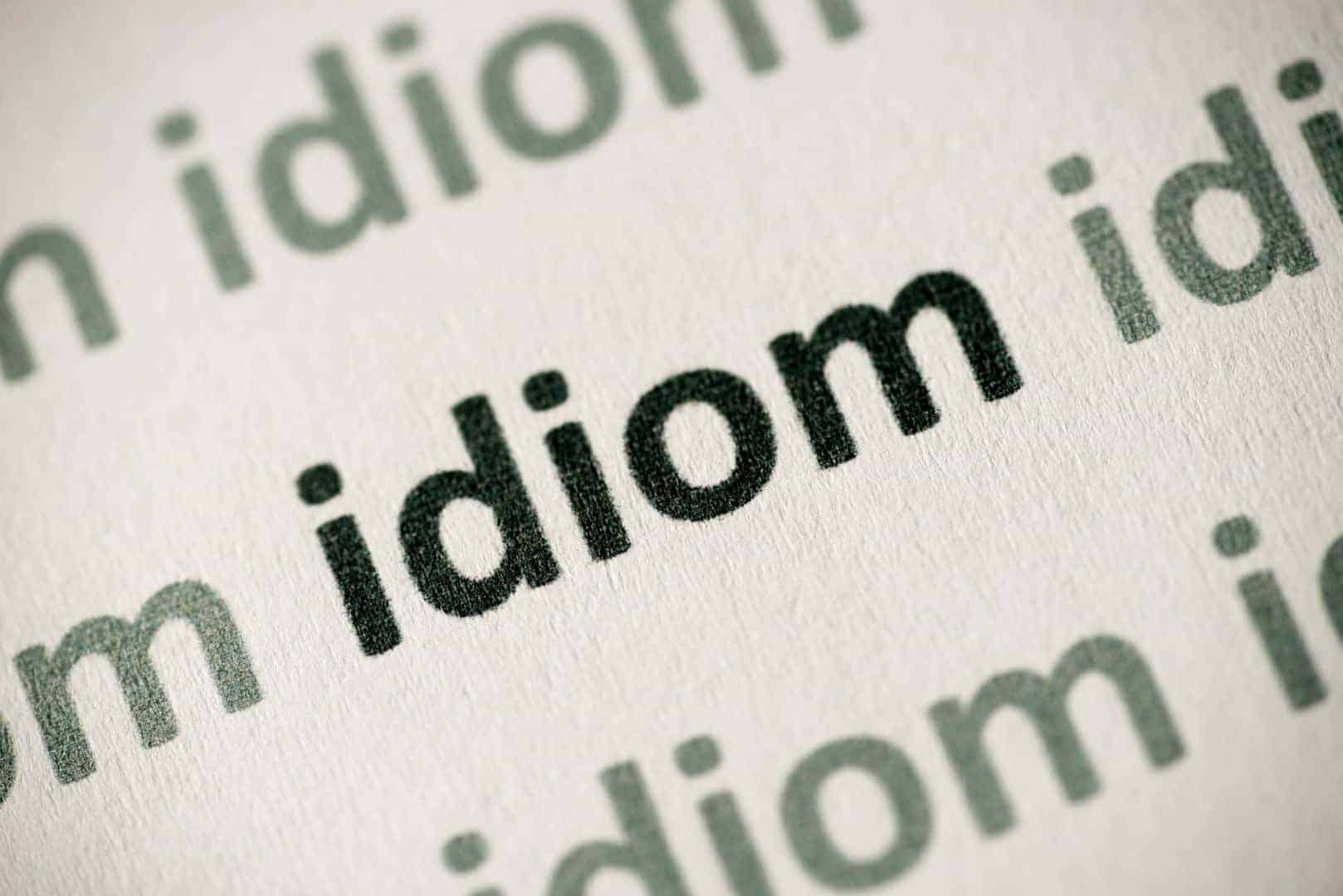 40 Popular Idioms And Their Meanings