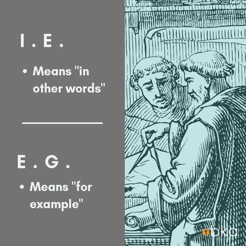 Description of ie vs eg