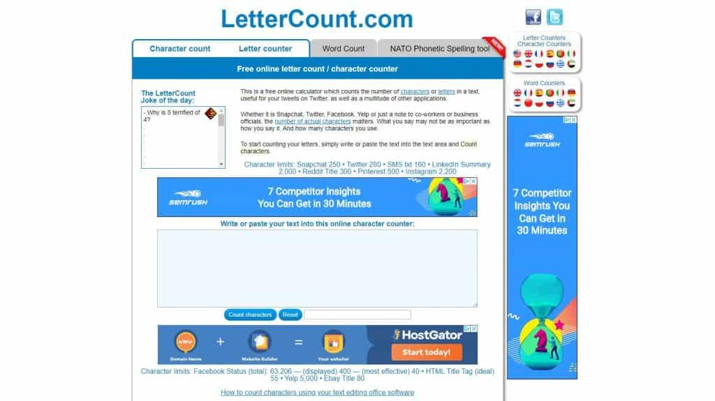 word count online