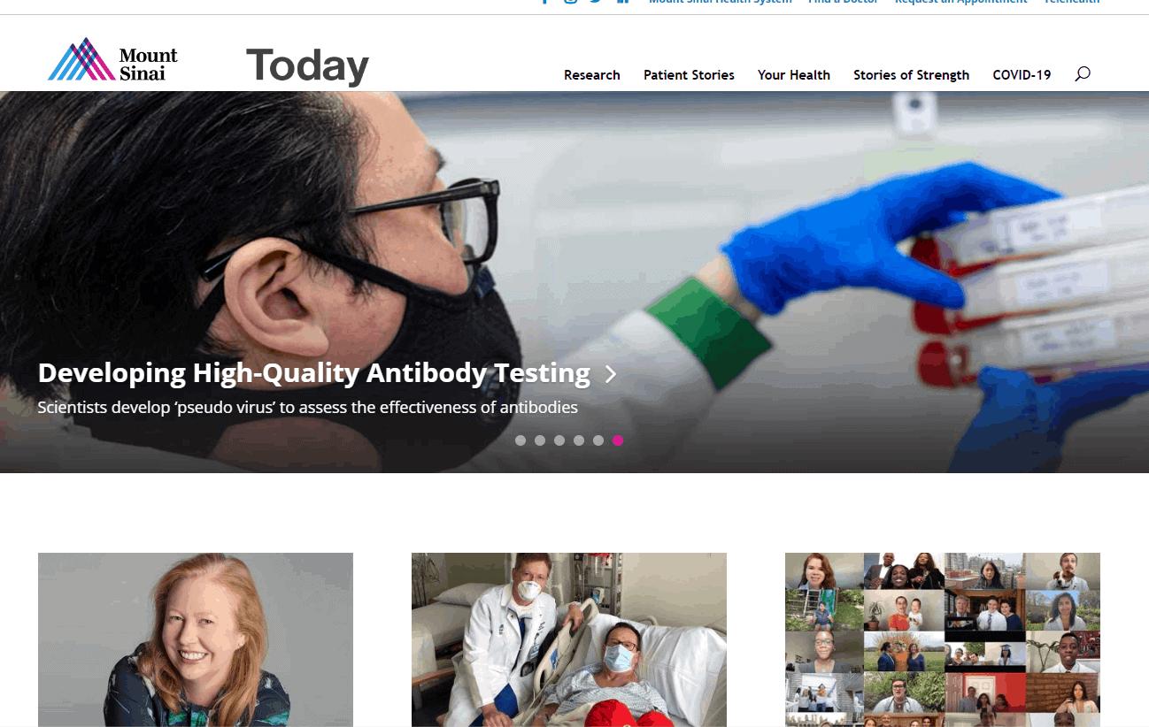 best healthcare content marketing websites
