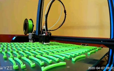 Fighting COVID-19 One 3D Print at a Time