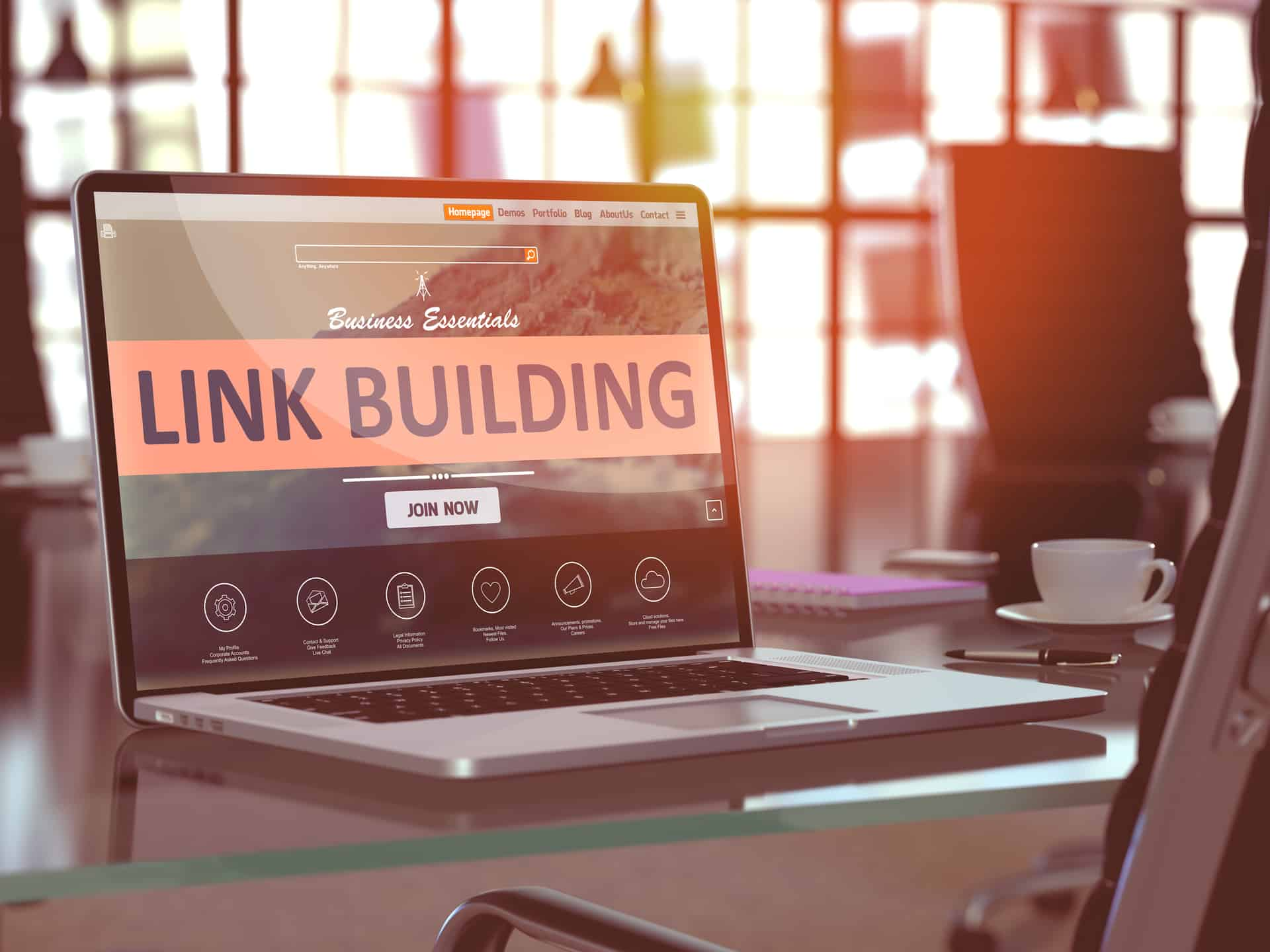 how to build links