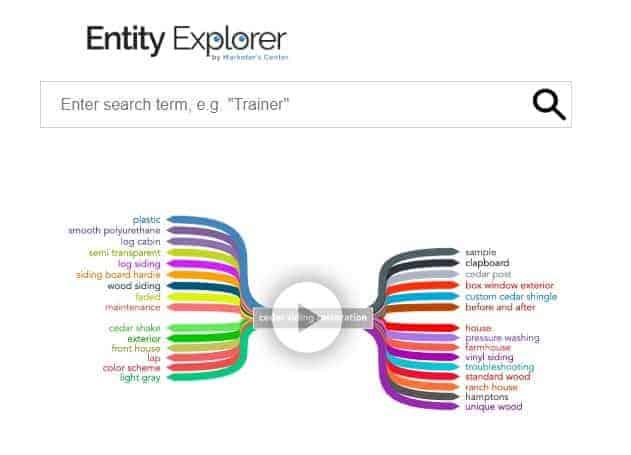 Entity Explorer