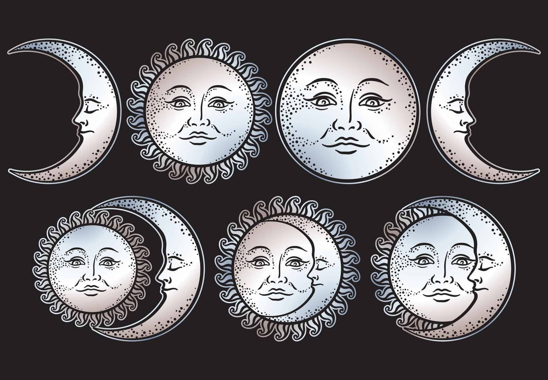 personification of moon phases