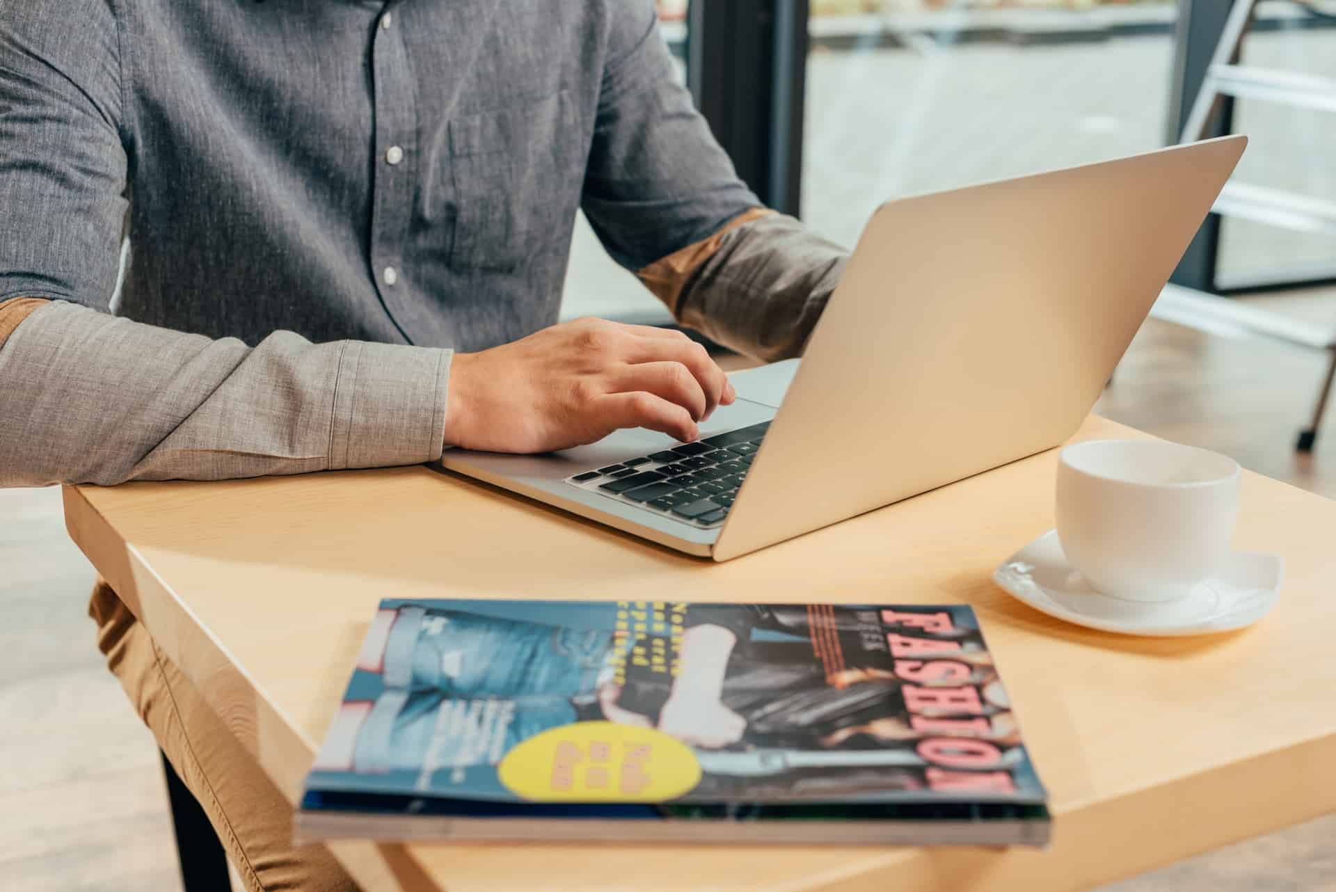 Combining digital and traditional media with a digital content writer