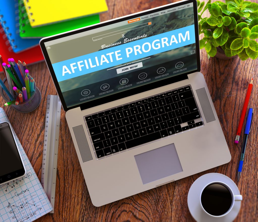 Affiliate marketing with a marketing content writer