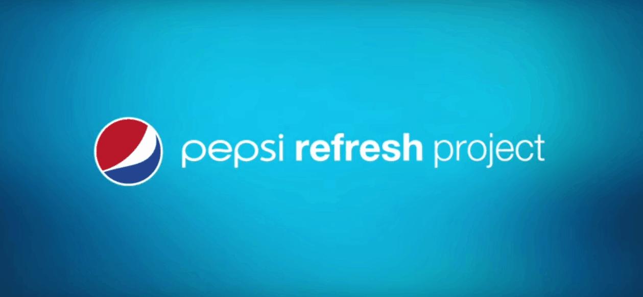 Pepsi refresh project