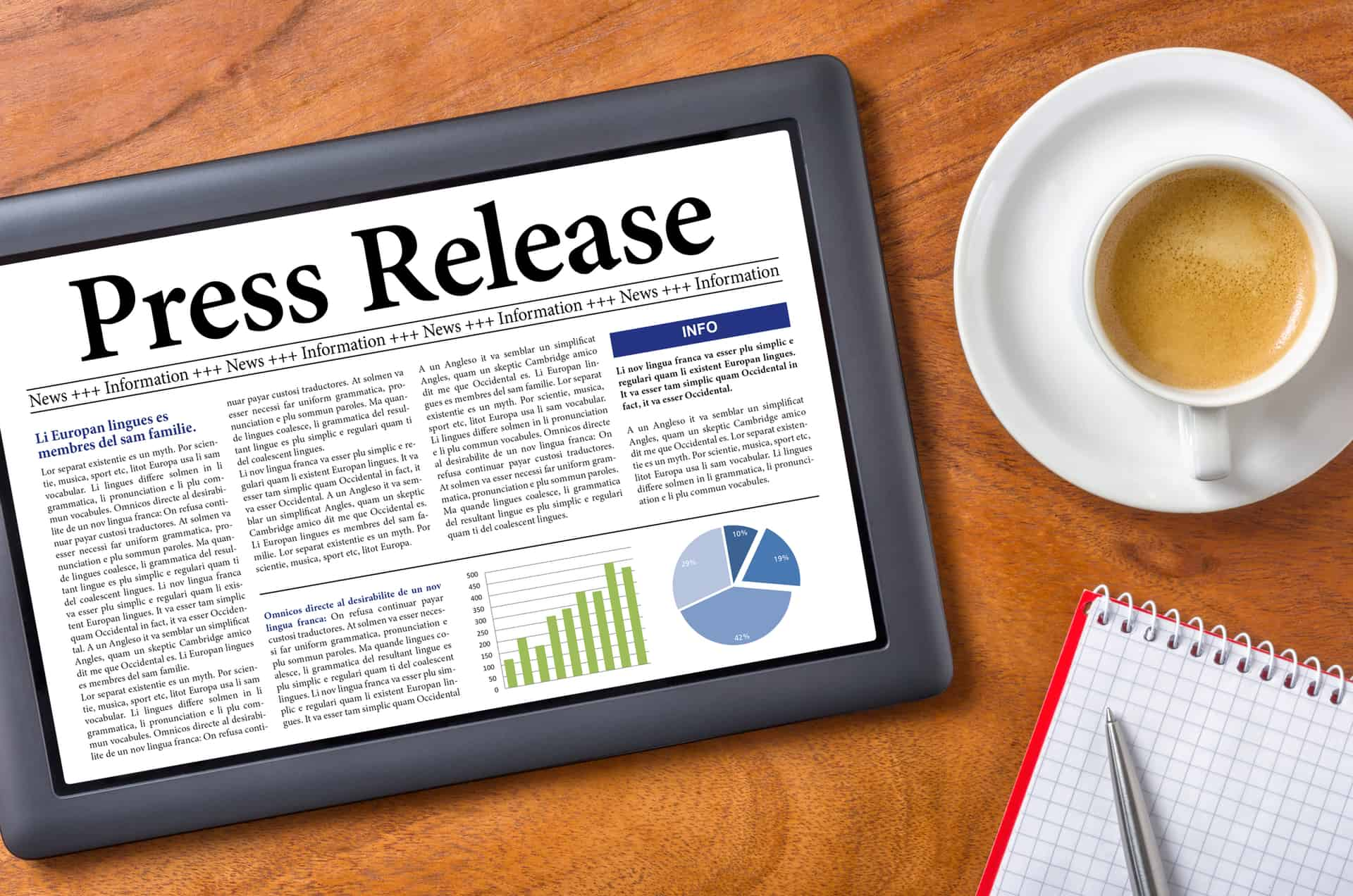 Hiring a press release writing service