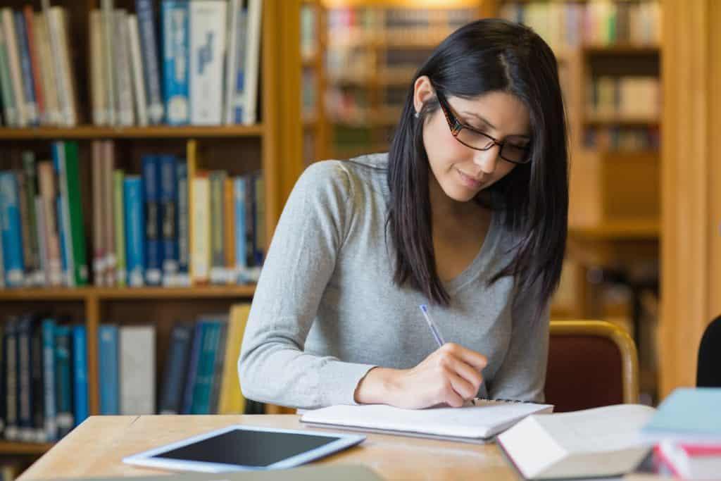 freelance medical writer performing research