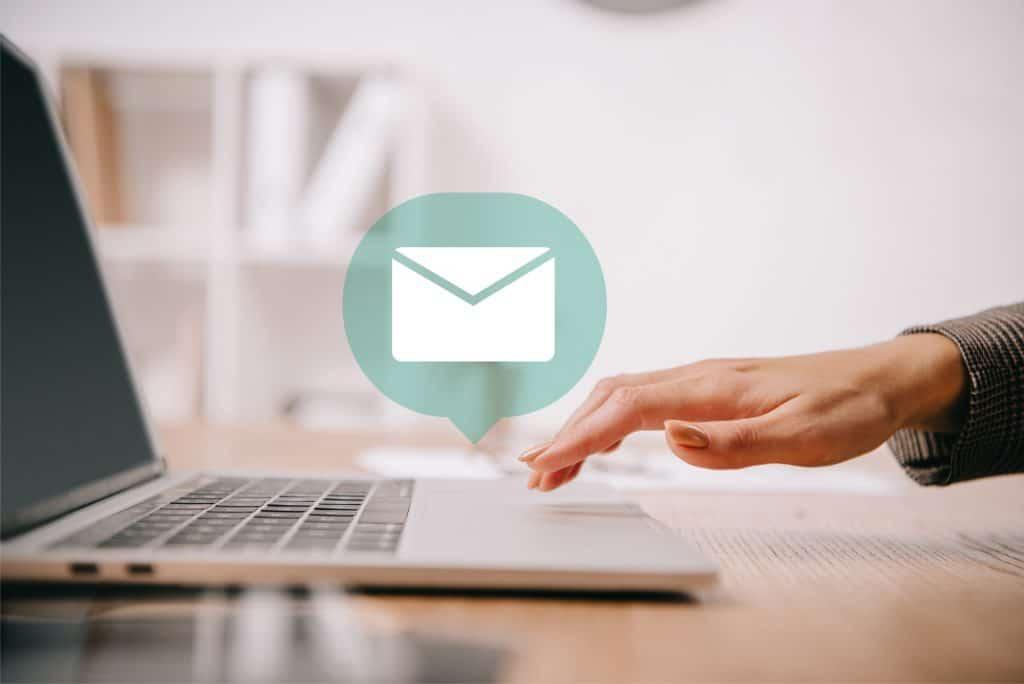 content distribution via email
