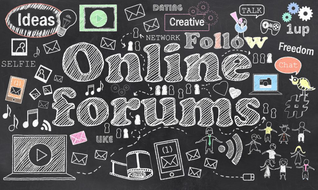 Online Forums to share your blog posts
