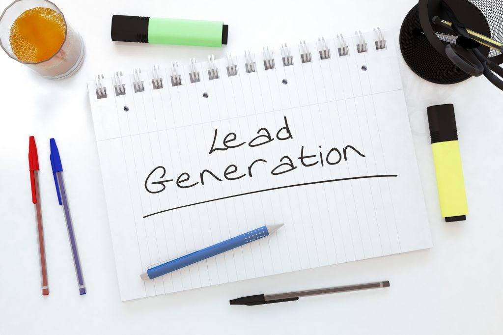 Generate leads with content writing agency