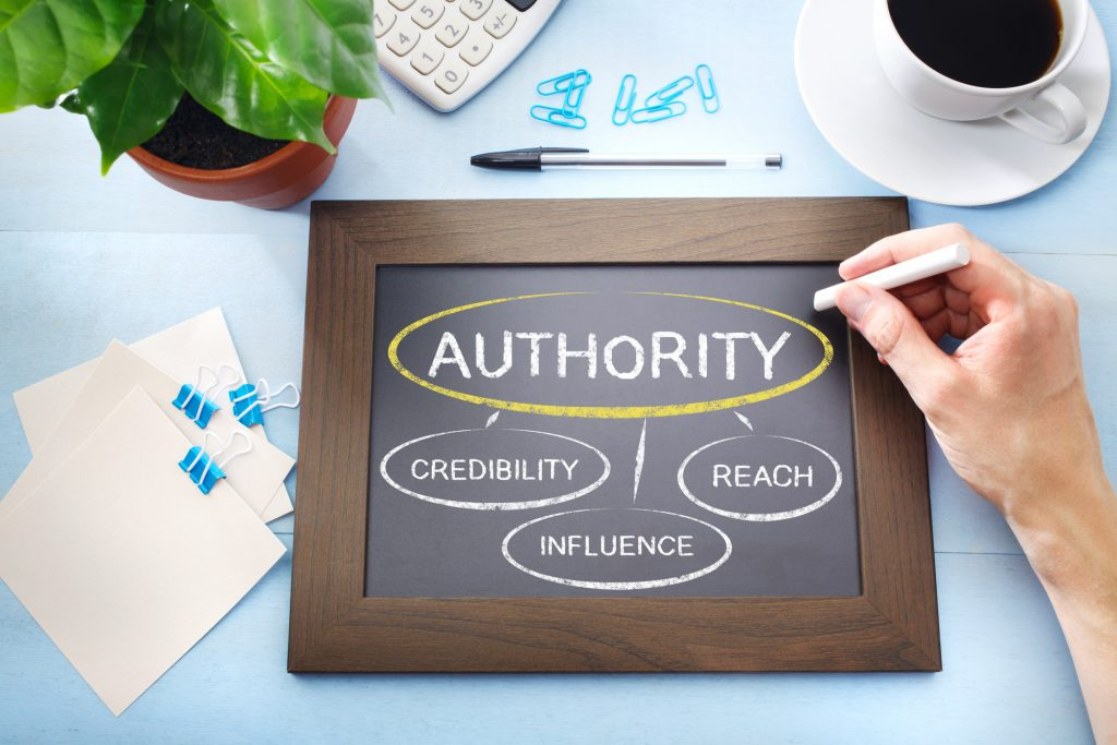 Creating brand authority with professional copywriters