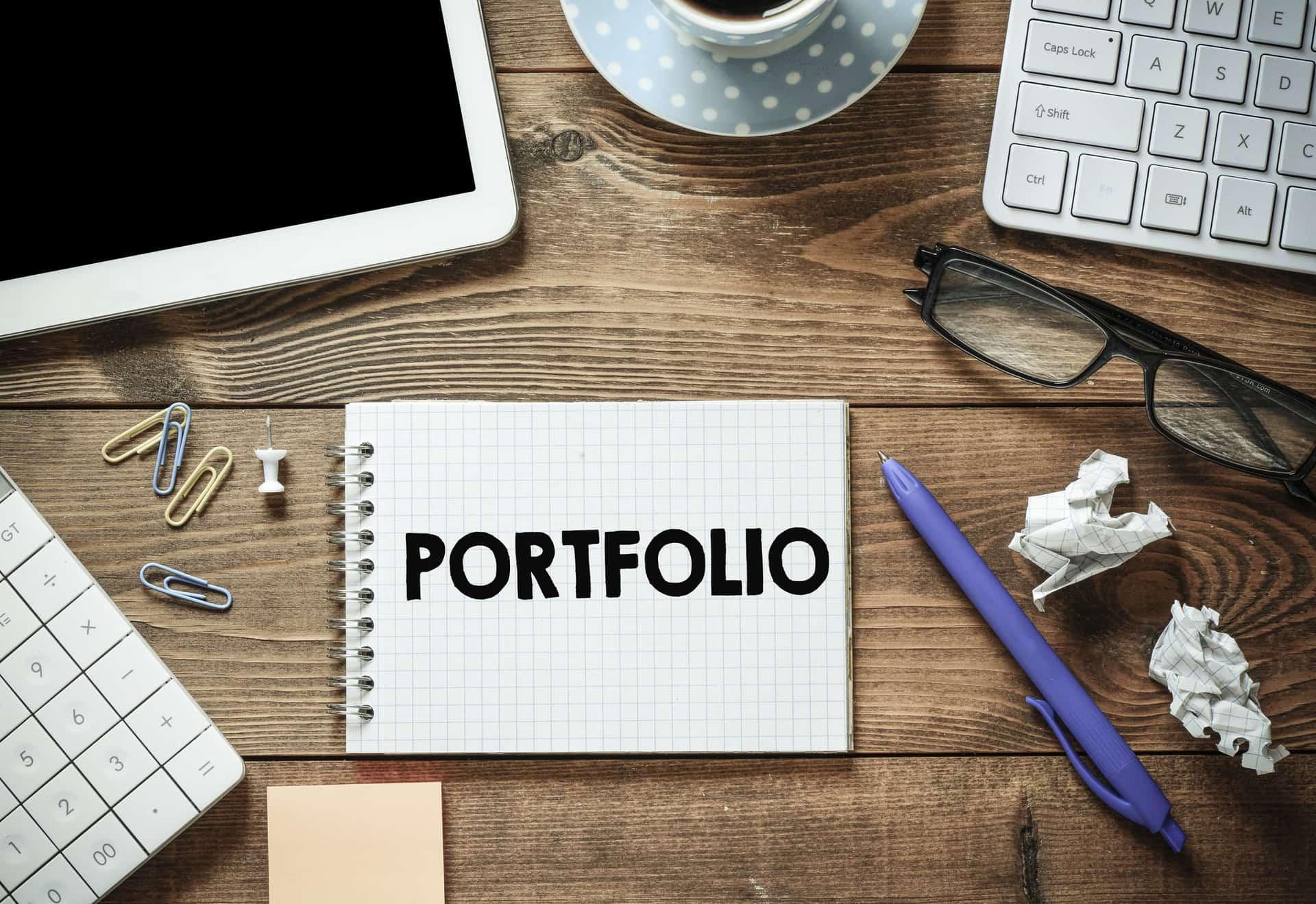 Writing portfolio of website writing services