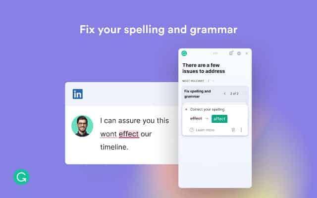 grammarly add on