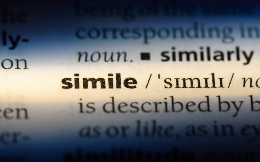 Simile Definition 101: Bold as Brass and Sweeter Than Sugar