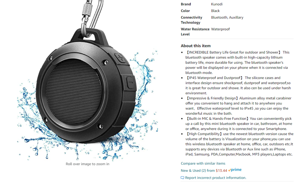how to write a technology product description